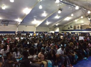 More than 1,200 Thornton Township high school juniors and seniors attended a youth conference.